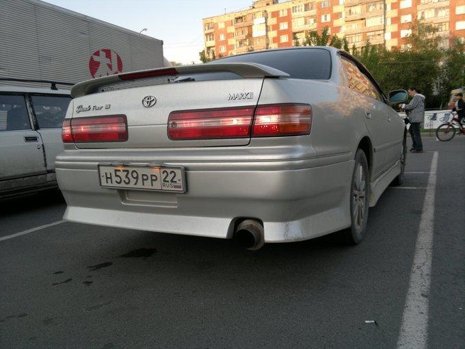 Toyota Mark II Wagon Qualis.