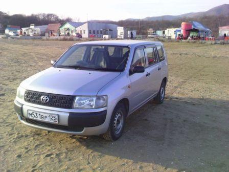 Toyota Probox 2003 - отзыв владельца