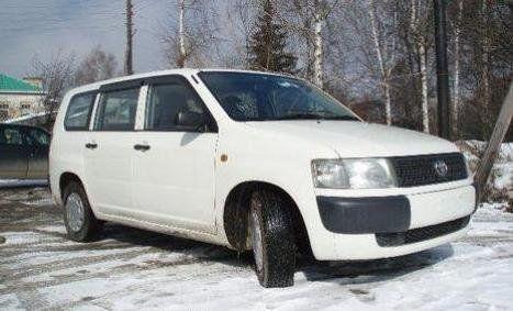 Toyota Probox 2004 - отзыв владельца