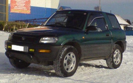 Toyota RAV4 1994 - отзыв владельца