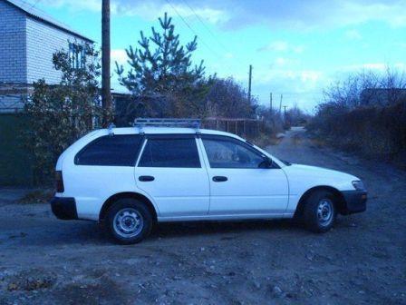 Toyota Sprinter 2001 - отзыв владельца