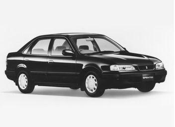 Toyota Sprinter 1995 - отзыв владельца