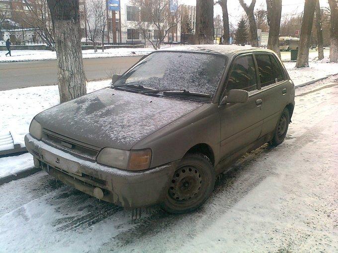 Toyota Starlet.