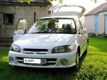 Toyota Starlet 1999 - отзыв владельца