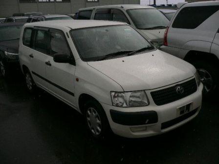 Toyota Succeed 2003 - отзыв владельца
