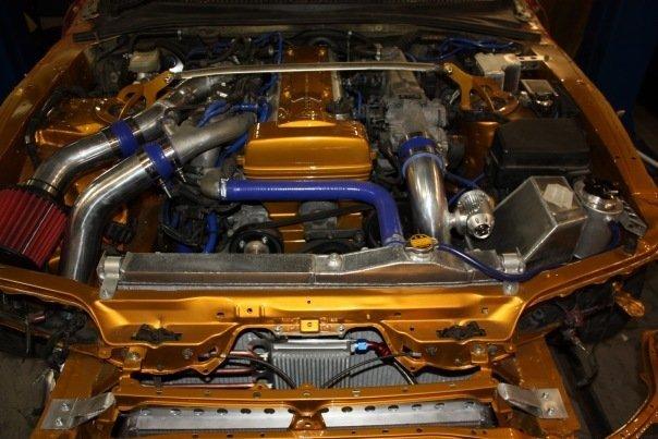 Toyota Supra.
