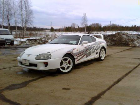 Toyota Supra 1994 - отзыв владельца