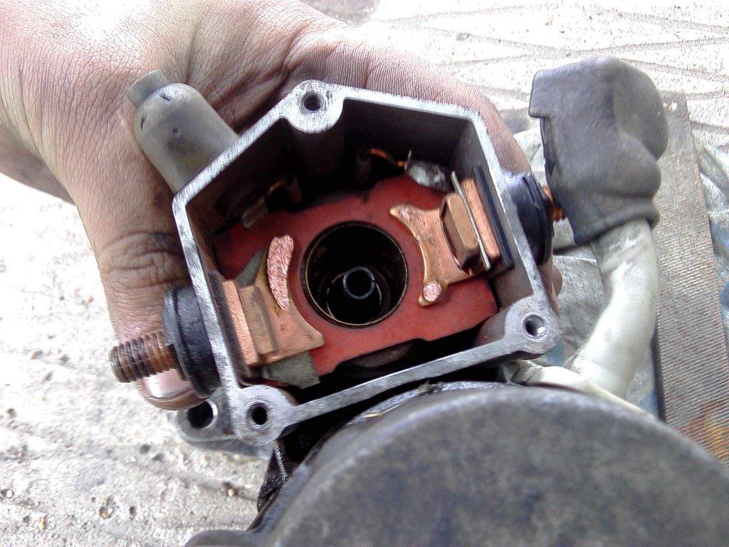 Тойота ремонт стартера своими руками