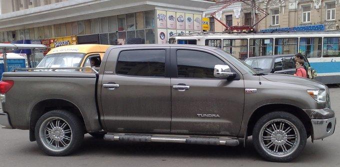 Toyota Tundra.