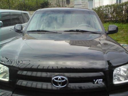 Toyota Tundra 2002 - отзыв владельца