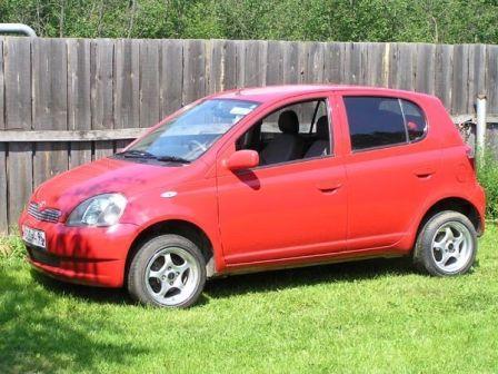 Toyota Vitz 1999 - отзыв владельца