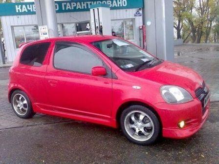 Toyota Vitz 2001 - отзыв владельца