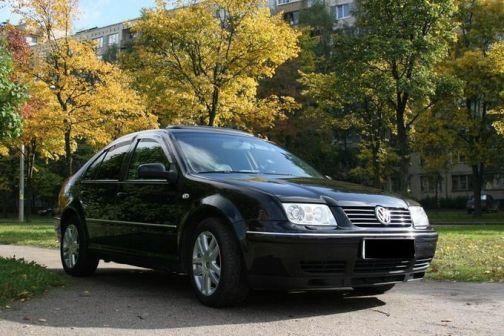 Volkswagen Bora 2001 - отзыв владельца
