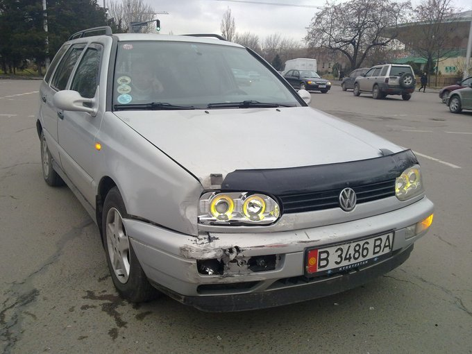 Volkswagen Golf.