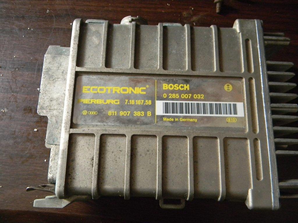 Блок управления ecotronic pierburg bosch 0285007051 opel