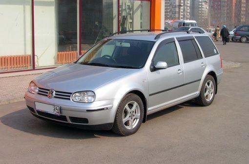 Volkswagen Golf 2001 - отзыв владельца