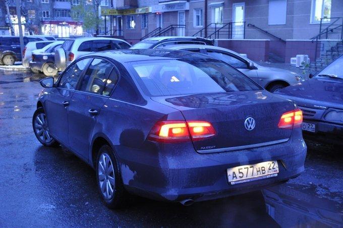 Volkswagen Passat.