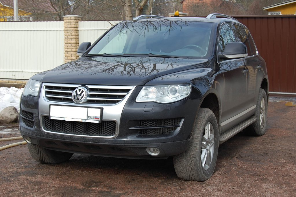 volkswagen touareg, 2009 г. 2.0 литра