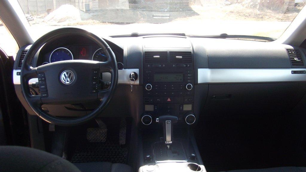 volkswagen touareg 2.5 2009 реальный расход топлива