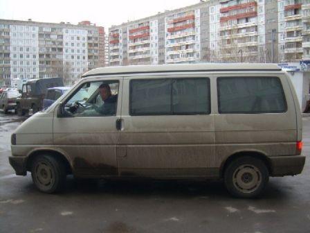 Volkswagen Transporter 1995 - отзыв владельца