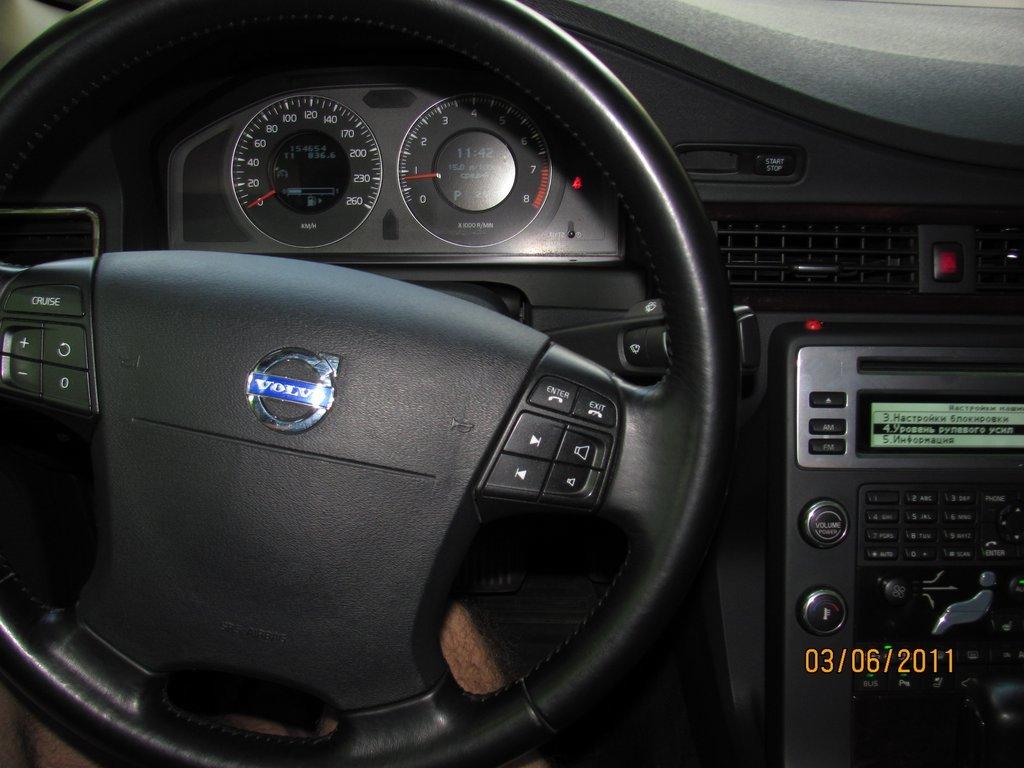 схема охлаждения двигателя volvo s80