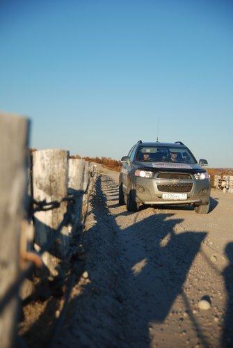 защита переднего бампера для Chevrolet Captiva
