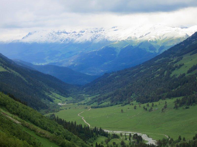 Путешествие по северному кавказу от