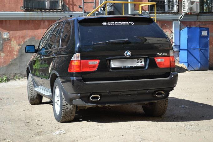 BMW X5 2001, бензин, 2997 куб.см, M54 231 л.с. - отзыв владельца