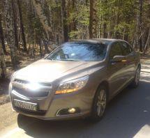 Chevrolet Malibu 2013 отзыв владельца | Дата публикации: 31.07.2014