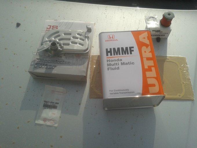 Honda hr-v ремонт вариатора