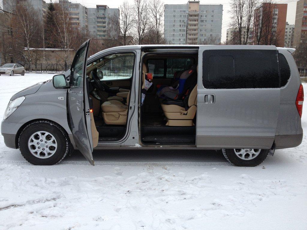 hyundai starex грузовой фургон размеры багажника
