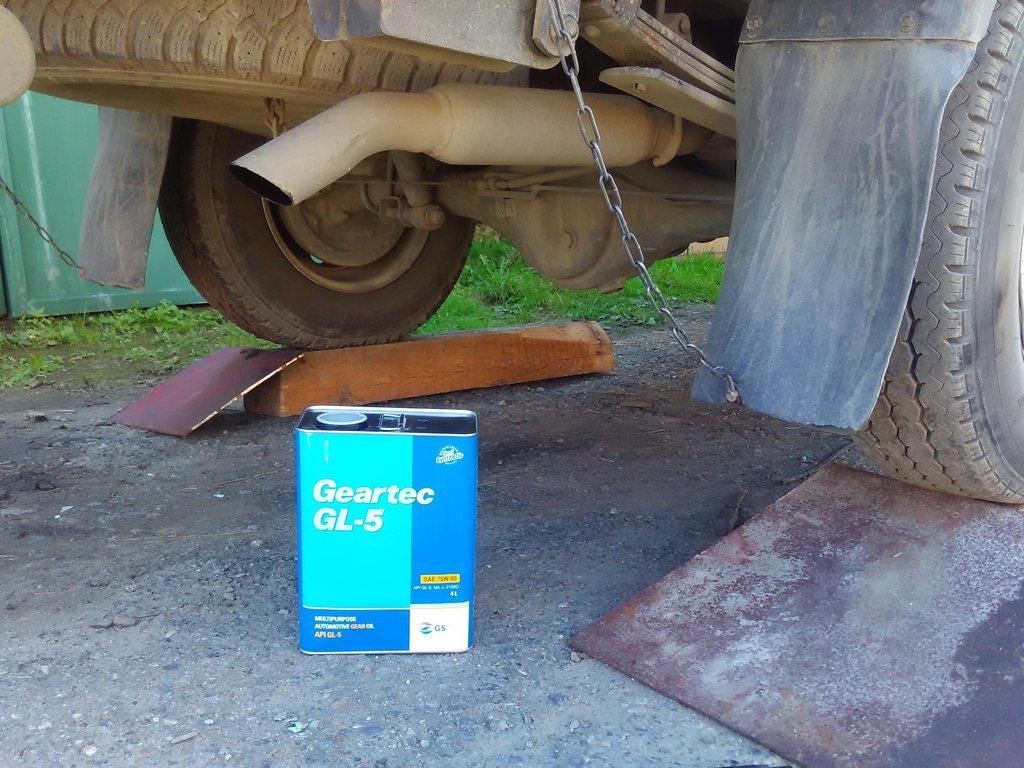 какая масло заливать в коробке передач киа бонго