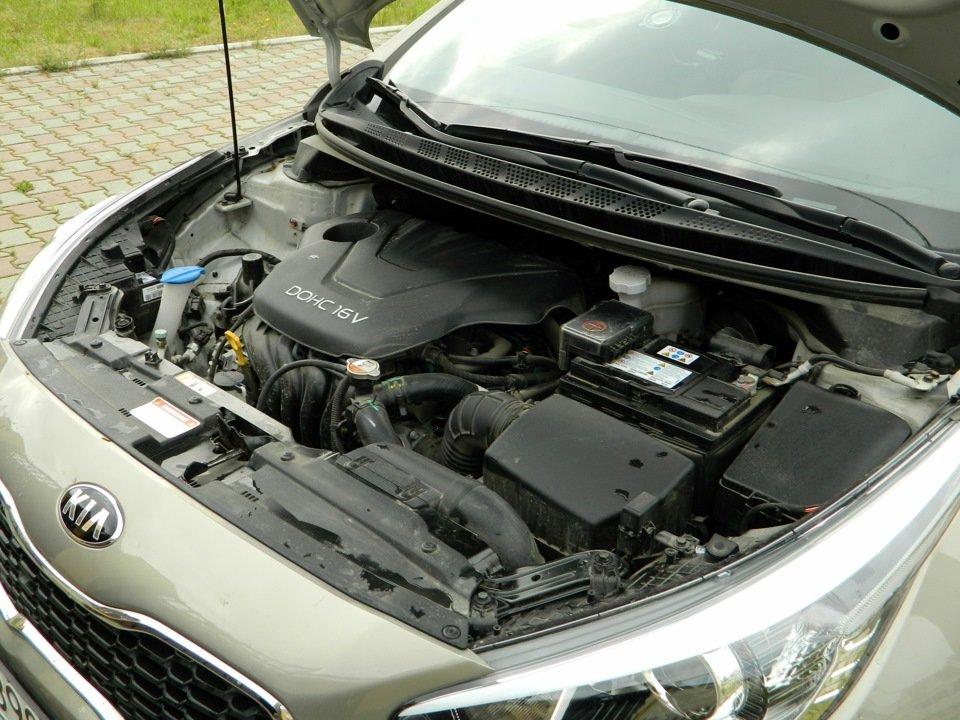 какое масло лить в двигатель kia ceed 1.6 2013