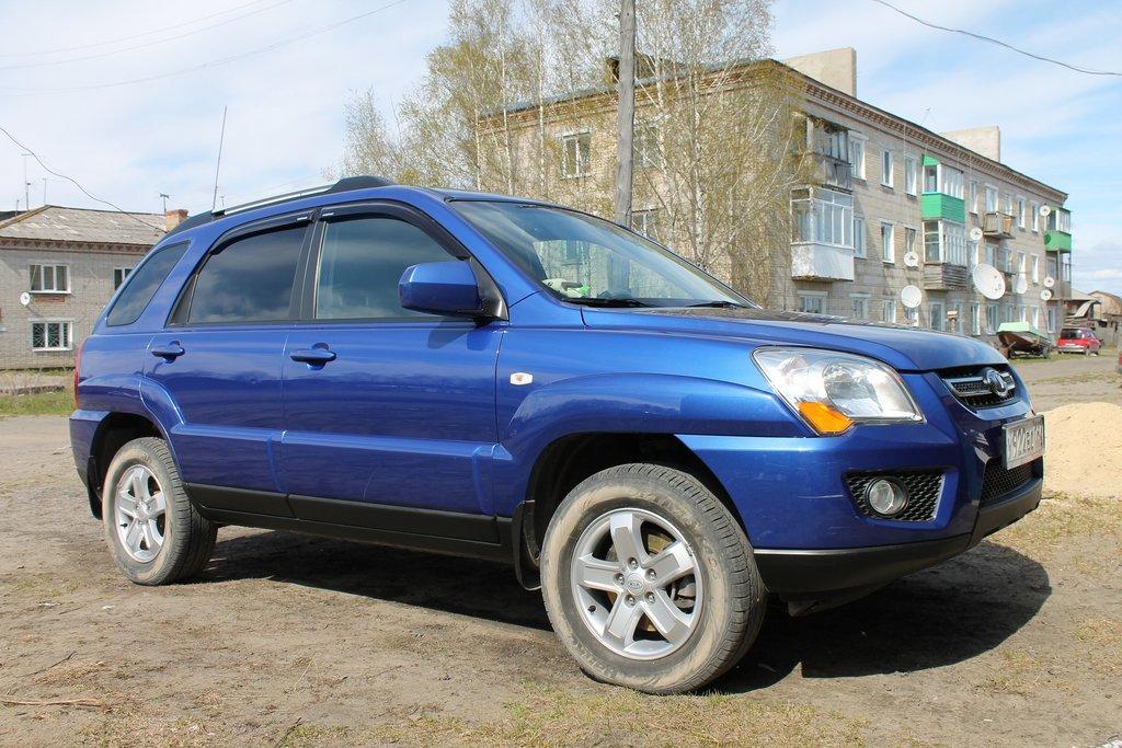kia sportage 2009 какой бензин