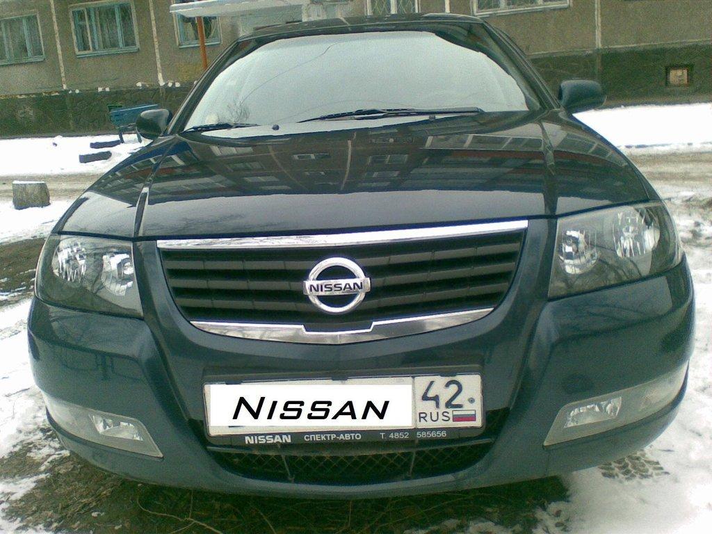 ниссан альмера 2007