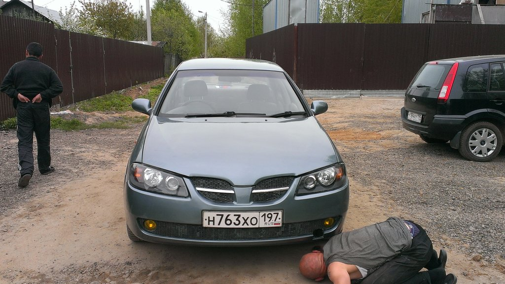nissan sunny 2002 n-16 запчасти