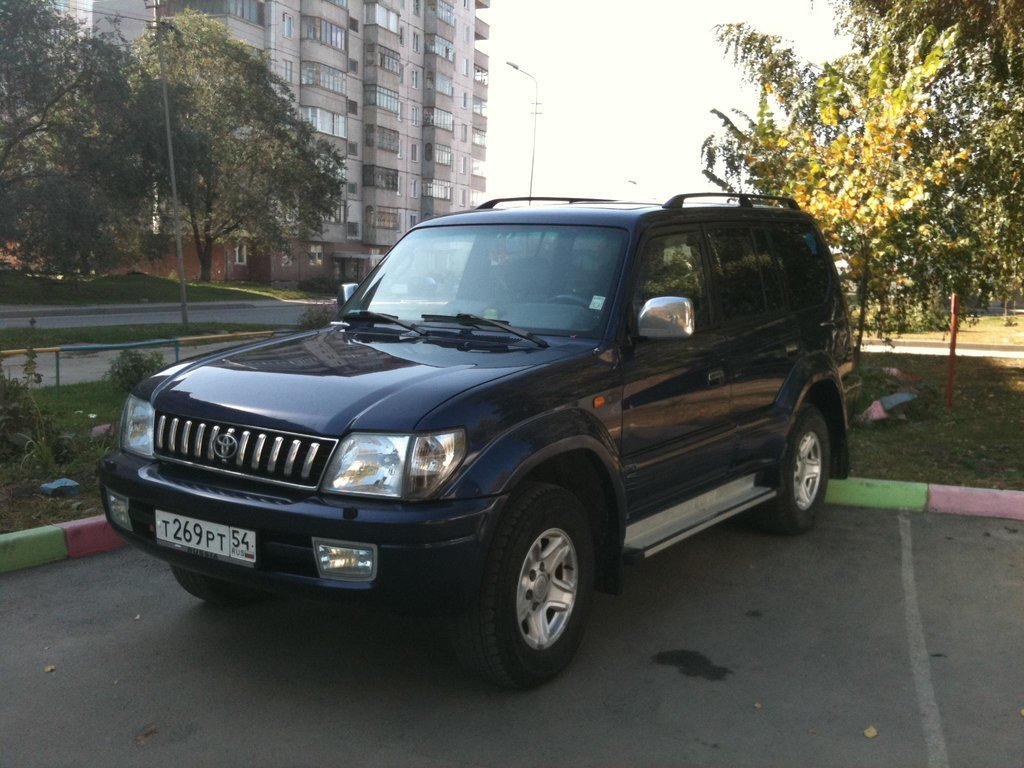 toyota land cruiser prado 1997 бензин отзывы