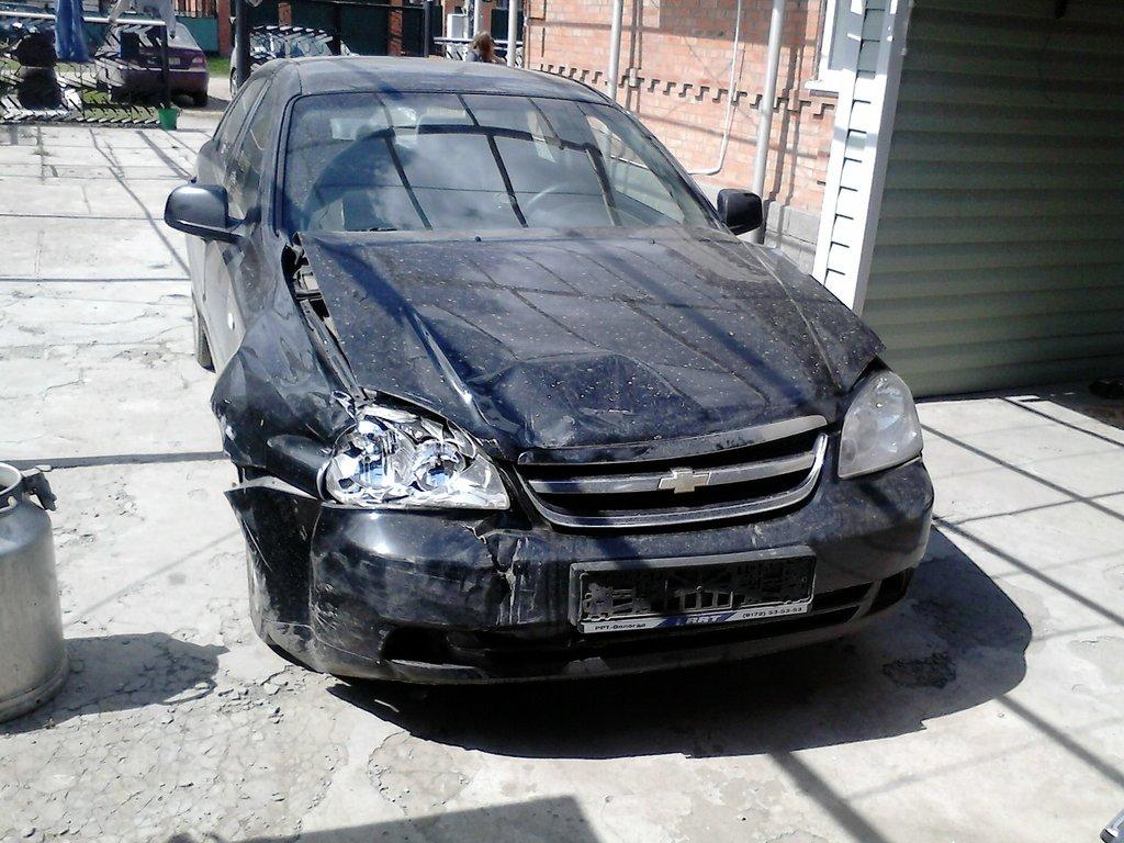 chevrolet lacetti нет искры машина после аварии