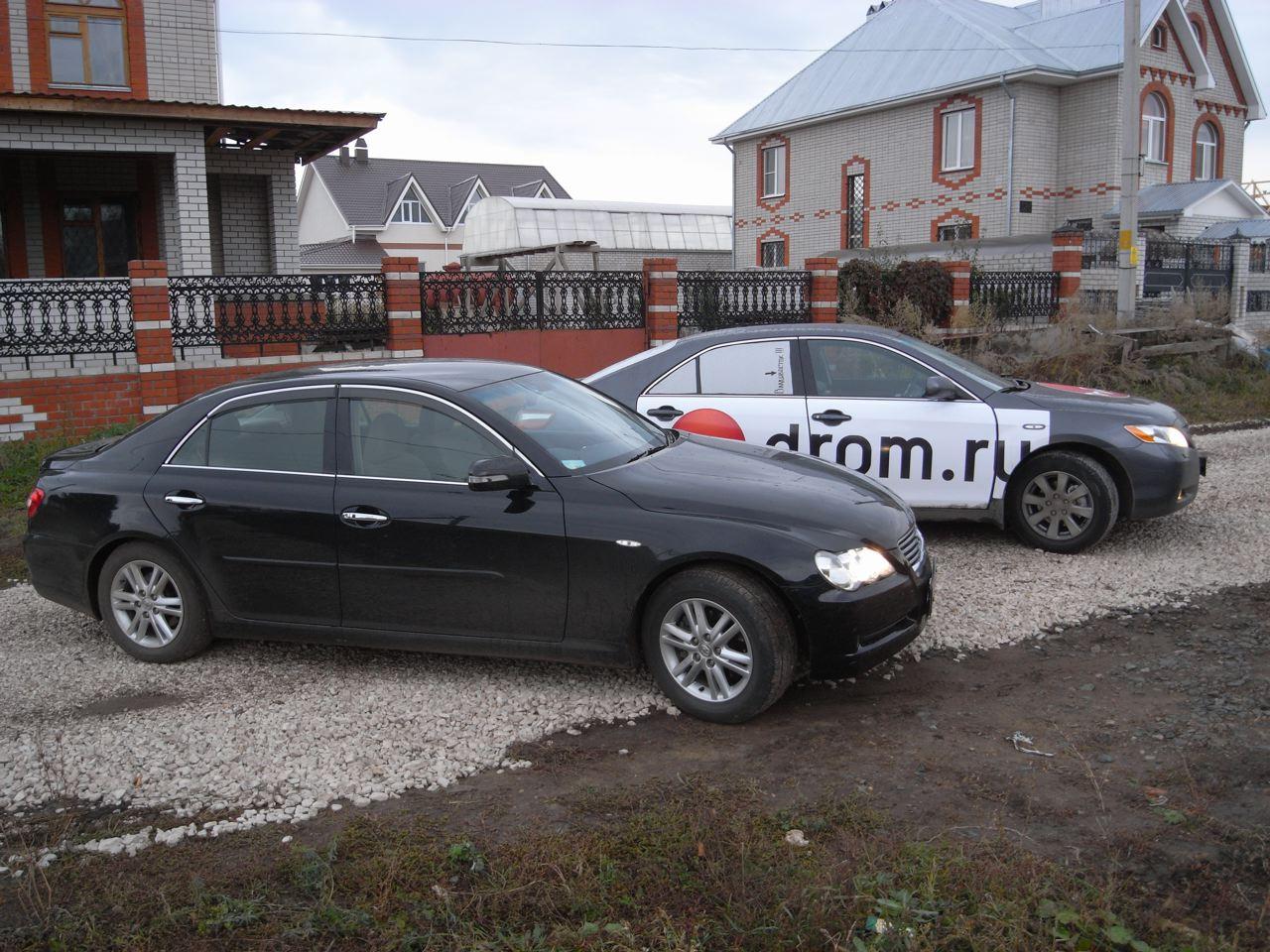 Toyota Mark X и Toyota Camry