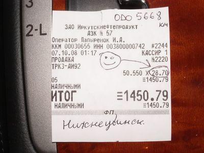 «Приятные» иркутские цены заставили с ностальгией вспомнить центр России.