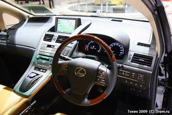 Lexus HS 250h. Интерьер. Из машины выходить нет никакого желания