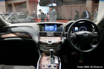 Nissan Fuga. Интерьер