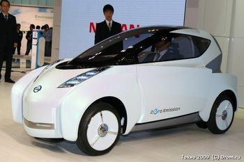 Концепт-электрокар Nissan Land Glider
