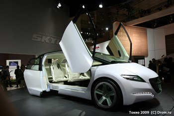 Концпет-кар Honda SKYDeck