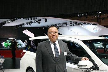 Генеральный менеджер проекта по разработке Subaru Forester, Subaru Outback, Subaru Exiga и семейства Legacy Кадзухару Итикава