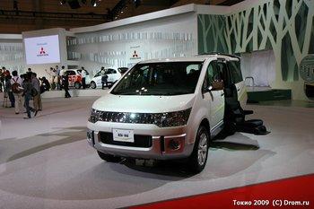Mitsubishi Delica D:5 в комплектации для перевоза инвалидов
