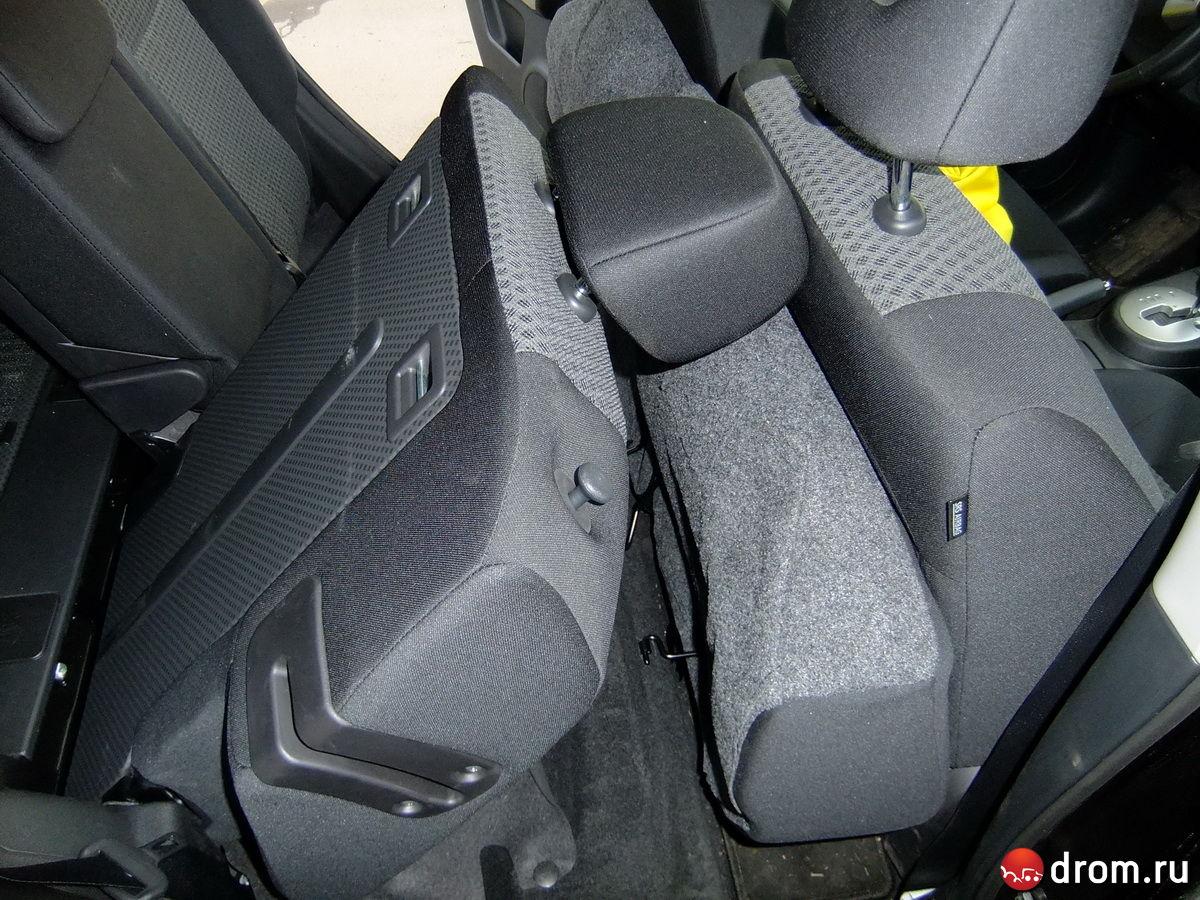 инструкция как поднять задние сиденье в паджерике