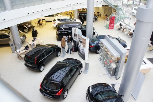 Шоу-рум ДЦ Nissan на Коломенской: представлены практически все предлагающиеся в России модели — даже GT-R присутствует