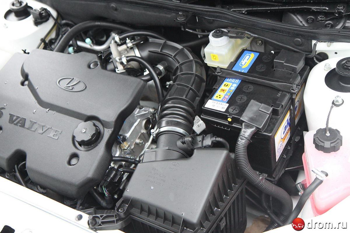 16 двигатель фото калины клапанов