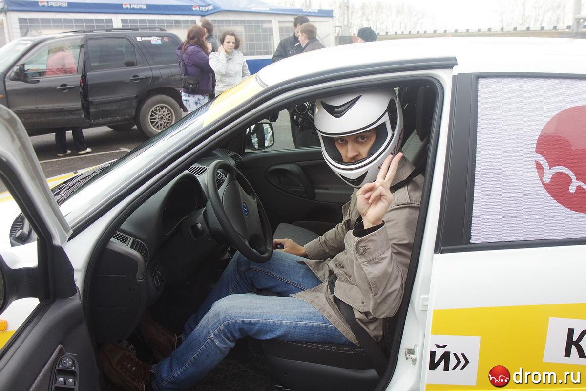 Блог Лада Калина Спорт - Гонки и поломки: тесты на треке Красное ...